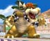 Bowser on Isle Delfino